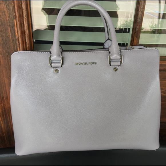 02303b847c8391 Michael Kors Bags | Savannah Large Patentleather Satchel | Poshmark
