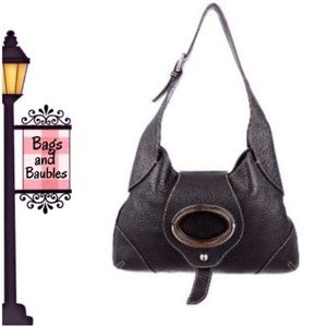 Dolce   Gabbana Bags - PRICE FIRM  DOLCE   GABBANA Black Leather Hobo Bag bfacd13855aed