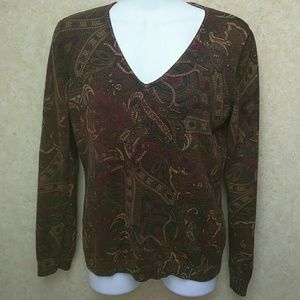 Chaps Sweaters - Chaps V neck sweater