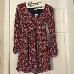 Hollister floral summer dress