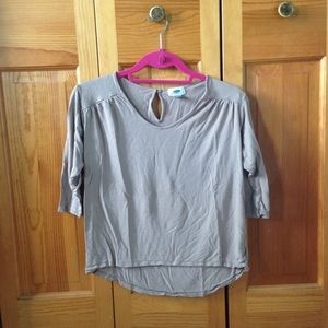 Tan Old Navy Top