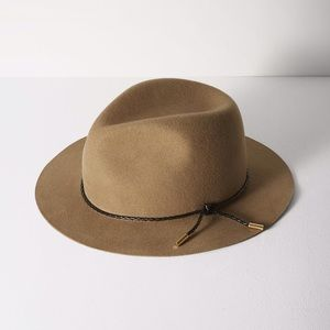 rag & bone Accessories - Rag & Bone Abbott Fedora In camel