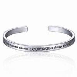 A New Alloy Serenity Prayer Bracelet