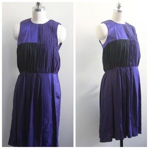 Damir Doma Dresses & Skirts - Damir Doma BLUE  Purple Silk dress Size 36 / Small