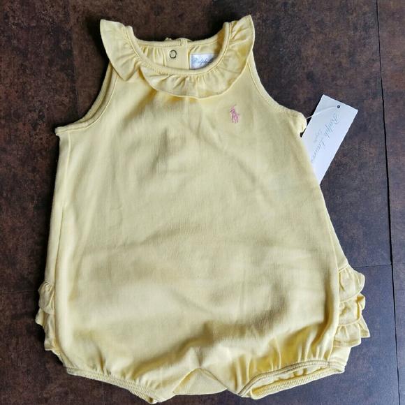 68f6f905d Ralph Lauren Other | Baby Girl Romper Ruffle Bottom | Poshmark