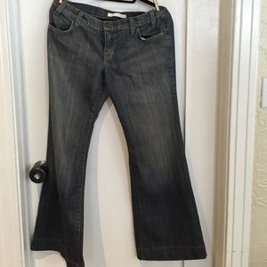Wide leg Freedom of Choice Anthro jeans size 31