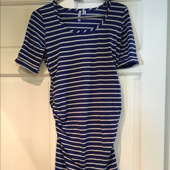 7b11ee742 M 573cd4d82de5127068002f91. Other Dresses you may like. Planet Motherhood  Cold Shoulder Ruched Side Dress