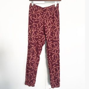 Free People Printed Jogger Pants