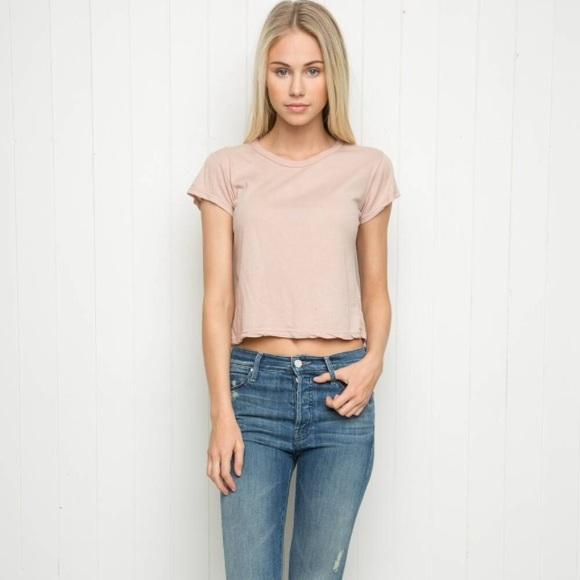 35b5fa44a36 Brandy Melville Tops | Nwt Light Pink Top | Poshmark