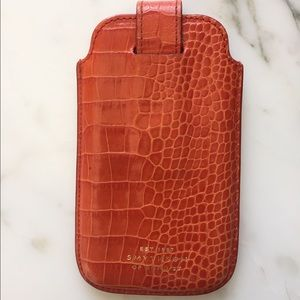 Smythson Accessories - Key/phone leather case