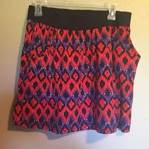 Ann Christine Dresses & Skirts - Patterned Skirt