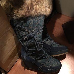 Akdmks knee high boot Sz 7