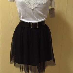 Frenchi tiered skirt