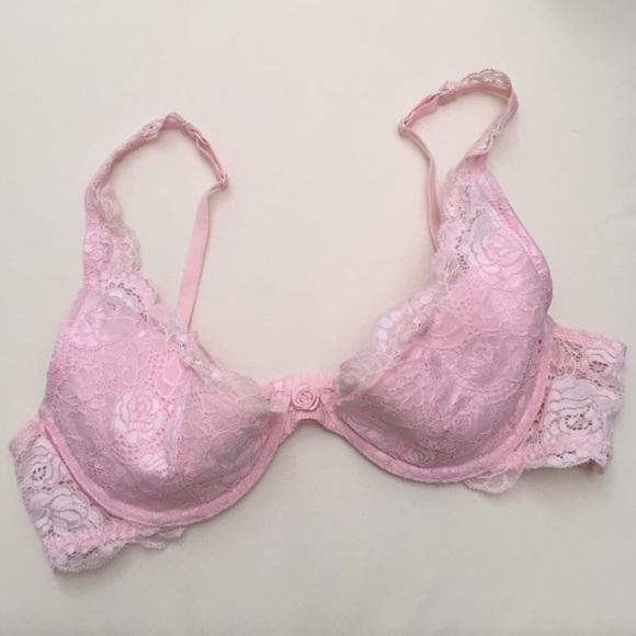 e1b9340780 Victoria s Secret lace baby pink bra 36b. M 573d04dc41b4e039ba0080de