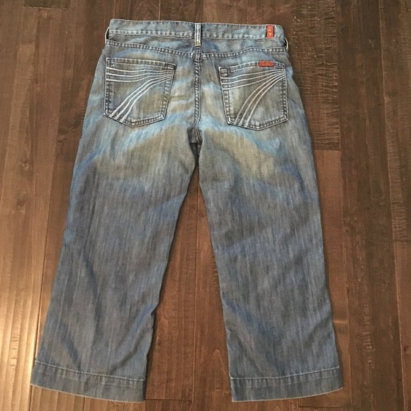 82 off 7 for all mankind denim sale for all mankind 39 dojo 39 crop jeans from lauren 39 s closet on. Black Bedroom Furniture Sets. Home Design Ideas