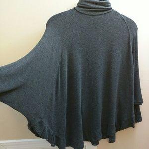 Zara Batwing Grey Sweater S