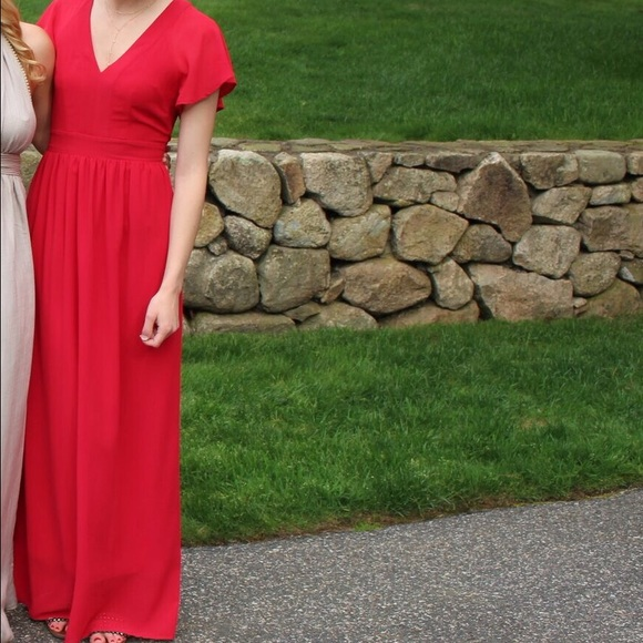 Amp skirts full length red dress from mimi s closet on poshmark