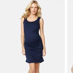 Maternal America Dresses & Skirts - Maternal America navy dress