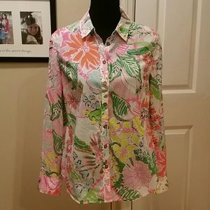 Lilly Pulitzer for target nosie posey shirt