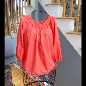 Lucky Brand Coral Top