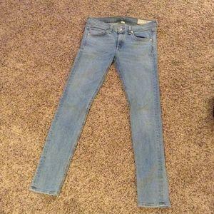 Woman's rag and bone jeans