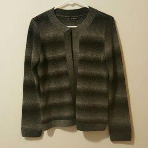 Anne Klein Sweaters - Anne Klein Gray Wool Cardigan