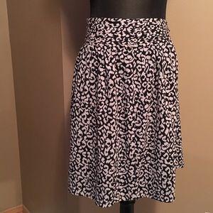 Loft-Pretty Floral print skirt