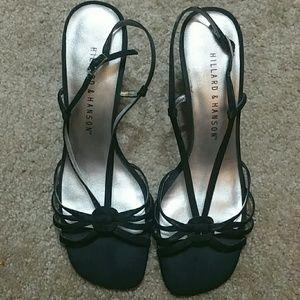Hillard & Hanson Shoes - Cute Black Heels