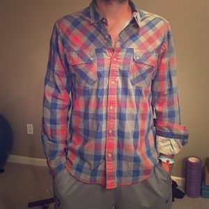 Life after denim Tops - Plaid button down