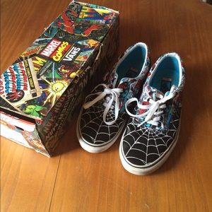 75f73b54221 Vans Shoes - Vans era Marvel Spider-Man print