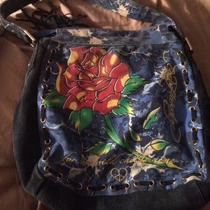 💕Ed Hardy tote purse!! 💕