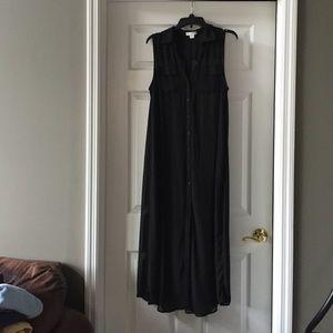 black cotton on maxi dress on Poshmark