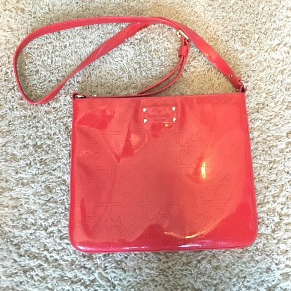 Kate Spade Bags Darby Crossbody Red Purse Poshmark