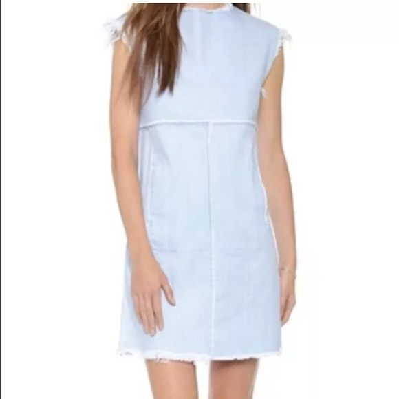 a8fdc67a17 Marc by Marc Jacobs Frayed Edge Denim Minidress