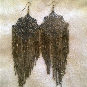 acf97293bb20f 🎶Lowest Price🎶 Gorgeous large fringe earrings