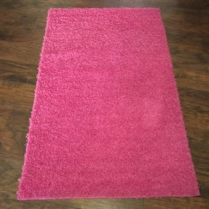 80 off other cute pink rug from samantha 39 s closet on for Cute rugs for cheap