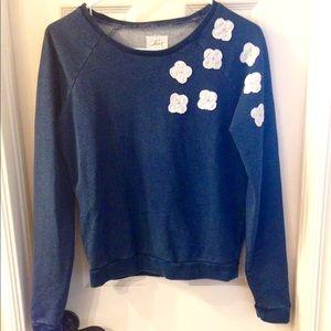 Levi's navy blue sweater Sz S