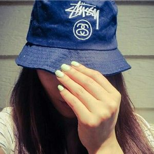 026d8ce6160 ... stussy stock lock bucket hat olive ...