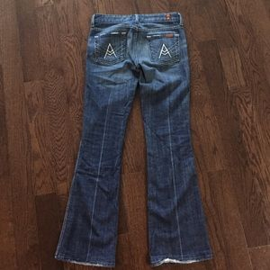 """7 For All Mankind """"A"""" pocket jeans"""