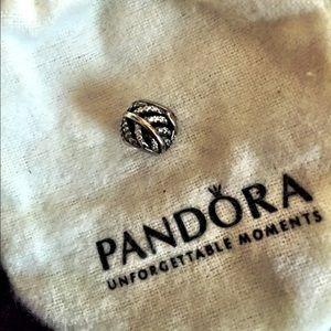 Pandora feather charm - authentic