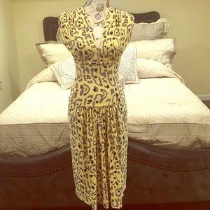 Norma Kamali Dresses & Skirts - 🎉SALE🎉NWOT Norma Kamali Leopard Print Midi