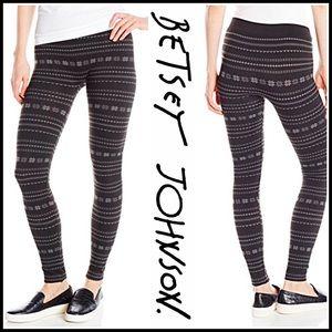 Betsey Johnson Pants - ❗️1-HOUR SALE❗️BETSEY JOHNSON Fleece LINED LEGGING