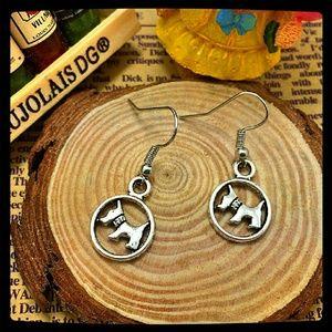 Jewelry - Antique Silver Doggie Earrings