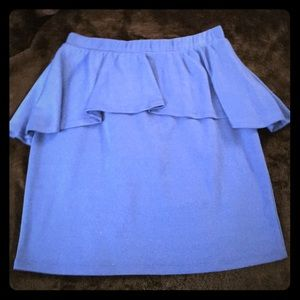 Ambiance Apparel Dresses & Skirts - Peplum mini skirt