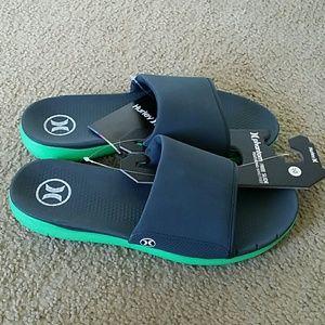 56e2c4cf168 Hurley Shoes - Mens Hurley Phantom free slide sandals sz 10 NWT
