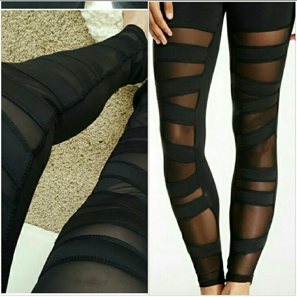 40% off Electric Yoga Pants - Electric Yoga Mesh Panel Ballerina ...