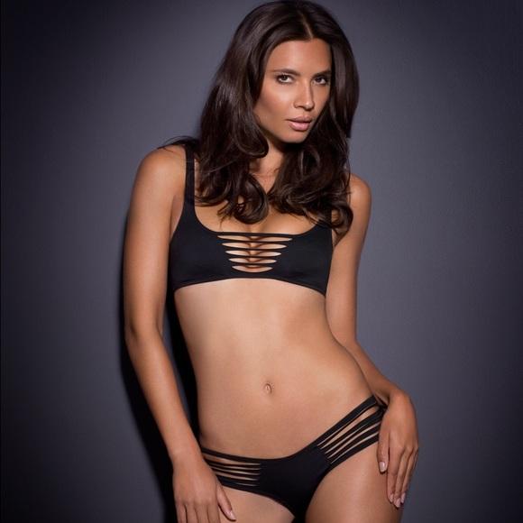 bfcd1cdbe49 Agent Provocateur Dakotta Bikini Swimsuit size 4/2.  M_573e1ba0713fdef0fd00dccd