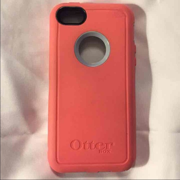 competitive price ef623 d484e iPhone 5c Pink/Coral OtterBox Defender Case