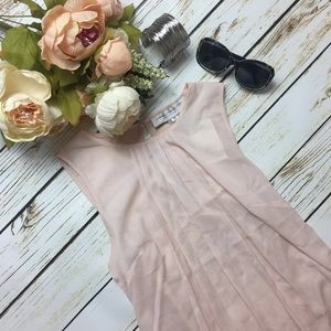 ✨NWT✨French Connection Pink Sleeveless Blouse