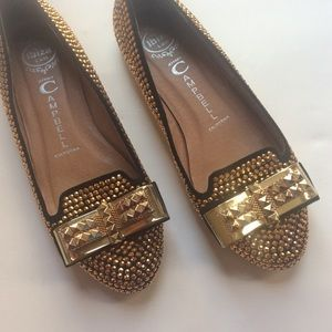 Jeffrey Campbell Shoes - ✨HP✨Jeffrey Campbell studded flats